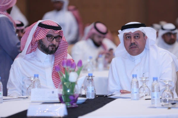 سمو الأمير سعود بن فهد ، الأمين العام د. فهد المغلوث